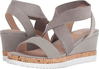 31f5b825508 Delivery  free. Steven by Steve Madden Womens NC-Saria Wedge Sandal Grey  9.5 M US
