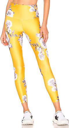Onzie High Basic Midi Legging in Yellow