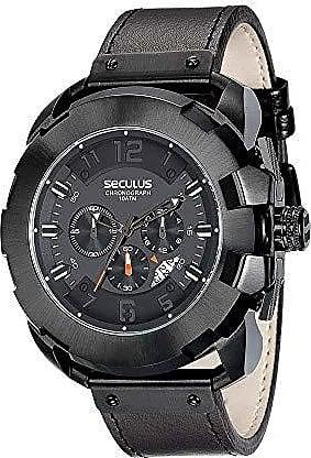 Seculus Relógio Seculus Masculino Ref: 20467gpsvpc1 Big Case Black