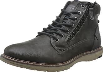 Mustang Mens 4105-502-20 Classic Boots, Grey (Dunkelgrau 20), 10.5 UK