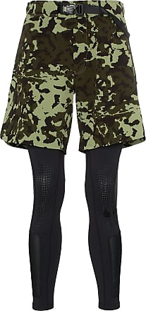 Nike X Alyx MMW two-part camouflage shorts and leggings - Green 6f5b030f0f8