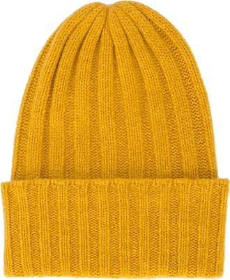 The Elder Statesman bonnet en cachemire - Jaune   Orange a239c9ea2bf