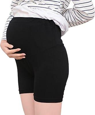 Zhuhaixmy Maternity Thin Shorts Over Bump Pregnancy Women Underwear Leggings High Cut Black
