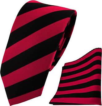 schmale TigerTie Krawatte Einstecktuch schwarz anthrazit silber grau gestreift