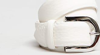 Rabaini Orciani - Cintura Soft Pelle - Bianco
