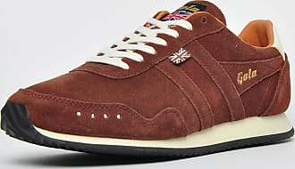 Gola Track Suede 317 Made in England 1905 Mens Brown