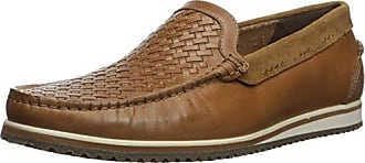 Hush Puppies Mens Bolognese Woven Moc Loafer Light Brown 8 W US