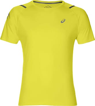 Asics Icon Short Sleeve Running Top - SS19 - X Large Yellow