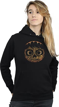 Disney Womens Coco Miguel Face Hoodie XX-Large Black