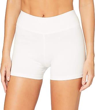 iLoveSIA Womens Knickers Yoga Gym Pants Stretch Boy Shorts White XL