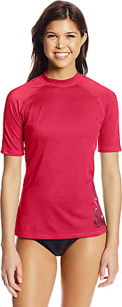 X-Small Short Sleeved Active Rashguard /& Workout Top Rash Guard Hemd Alyssa Holzkohle Kanu Surf Damen UPF 50