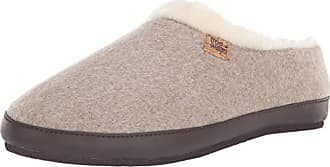 Freewaters Womens Chloe House Shoe Slipper with Happy Arch Support and Durable Indoor/Outdoor Sole, Oatmeal, S Medium US