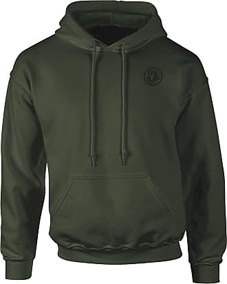 Military Online French Foreign Legion 2nd Paarchute Regiment - Embroidered Logo - Hoodie Olive Green