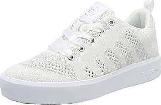 15a1d6f4567d4e Bugatti Damen 421407046969 Sneaker Weiß (White Silver) 42 EU