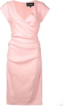 b920bce6cb2 Nicole Miller wrap-front short dress - Pink