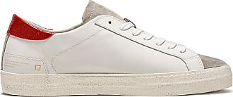 D.A.T.E. hill low vintage calf white-red