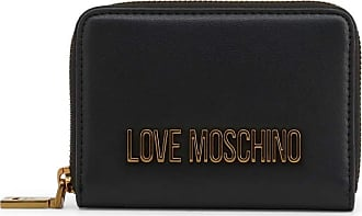 Love Moschino Moschino Love Moschino Womens Logo Zip Around Wallet One Size Black