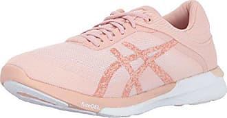 246e21e36e62 Asics Womens fuzeX Rush Running Shoe White Evening Sand