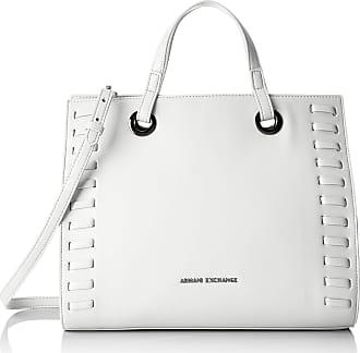 A X Armani Exchange A X Armani Exchange Medium Handbag, Bianco-White 208