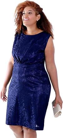 Vickttoria Vick Vestido Giulia Renda Marino Plus Size (44)