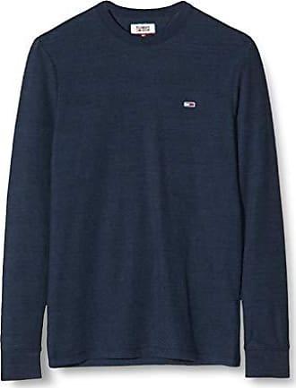 Tommy Jeans Uomo Garment Dye Henley Maglia a maniche lunghe Maniche lunghe