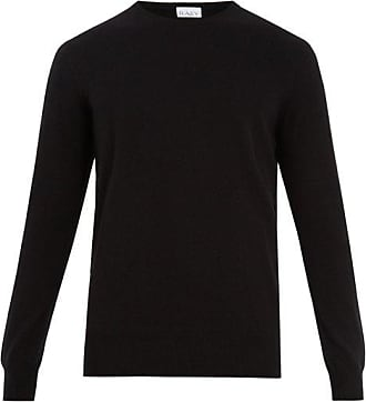 Raey Crew-neck Cashmere Sweater - Mens - Black