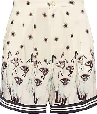 Undercover Printed Shorts Womens Cream