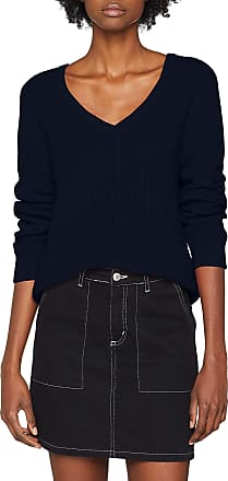 Vila Womens Vimyntani Knit Pointelle L/s Top-noos Jumper, Blue (Navy Blazer Navy Blazer), 14 (Size: Large)