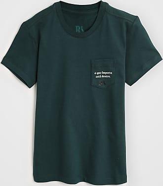 Reserva Mini Camiseta Reserva Mini Infantil Bolso Verde