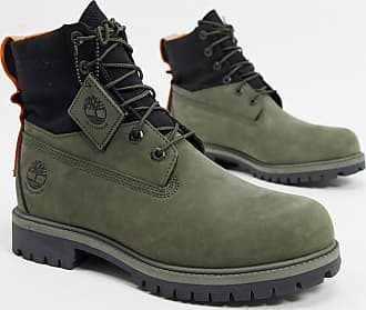 Timberland 6 inch treadlight boots in green