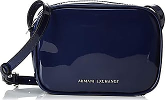 A|X Armani Exchange Womens Small Crossbody Bag, navy - navy 176