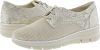 24 Horas 24 Hours 24475 Leather Blucher for Women Size: 6 Color: Hielo