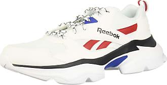Reebok Unisex Adults Royal Bridge 3 Competition Running Shoes, Multicolour (White/Team Dark RYL/Red/Blk 000), 8 UK