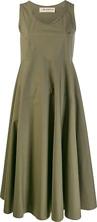 Blanca Vestido decote U - Verde