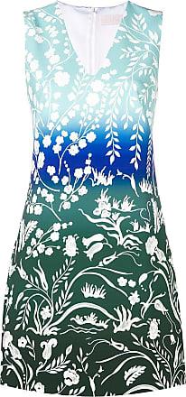 Peter Pilotto Vestido com estampa floral - Azul
