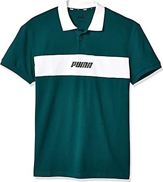 4a98f9541 Puma Mens Rebel Polo, Ponderosa Pine, XX-Large