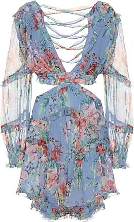 Zimmermann Bellitude floral silk-georgette minidress