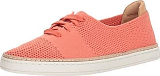 UGG Womens Pinket Sneaker, Vibrant Coral, 7 M US