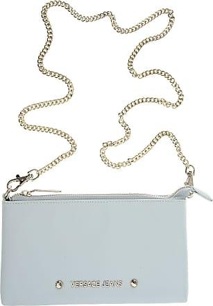 Versace Shoulder Bag for Women On Sale, Light Azure, polyurethane, 2017, one size