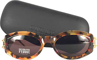 18c620086f273 Gianfranco Ferre New Vintage Gianfranco Ferré Tortoise   Gold 1990s Made In  Italy Sunglasses