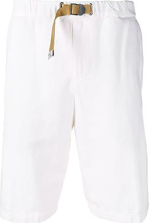 White Sand Bermuda com cinto - Branco