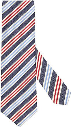 Altea Übergröße : Altea, Krawatte mit Streifen-Muster in Marine für Herren
