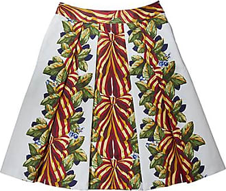 Franken & Cie. Skirt bows and leaves, red