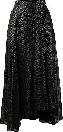 Iro metallic dot-print skirt - Black