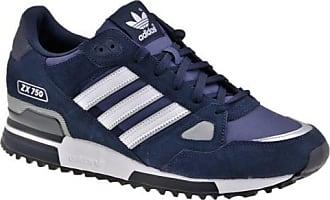 Professionelle adidas ZX 750 Schuhe Frauen blau weiß Jetzt
