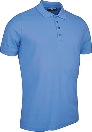 Glenmuir Kinloch Pique Polo Shirt - Light Blue - XL