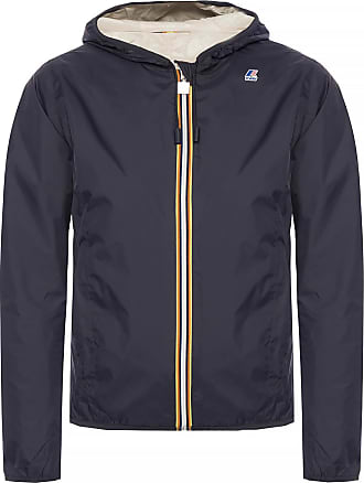 K-Way Lily Plus Double Reversible Jacket Womens Navy Blue