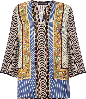 Etro Patterned Top Womens Multicolour