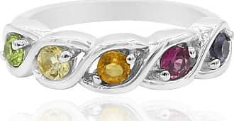 Juwelo Citrin Ring Silber Citrin Schmuck Citrin Silber