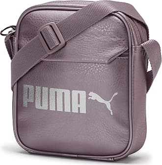 19363fed24 Puma Campus Portable Bag Elderberry-Puma Silver-met OSFA